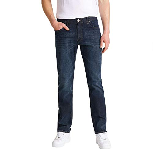 Lee Extreme Motion Straight Jeans, Trip, 32W / 30L para Hombre