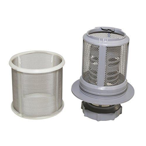 Qualtex Micro Filtro a Rete di Ricambio Compatibile con lavastoviglie Bosch Neff Siemens