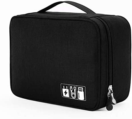 Portable Electronic Organizer Travel Accessories Cable Bag Universal Cord Storage Case Carrying product image