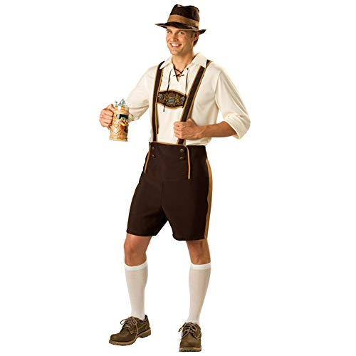 FACAI Oktoberfest Disfraz Hombres Mr Men Disfraces Disfraces De Halloween Cosplay Uniforme Floryday Ropa Adulto Disfraces,XXL
