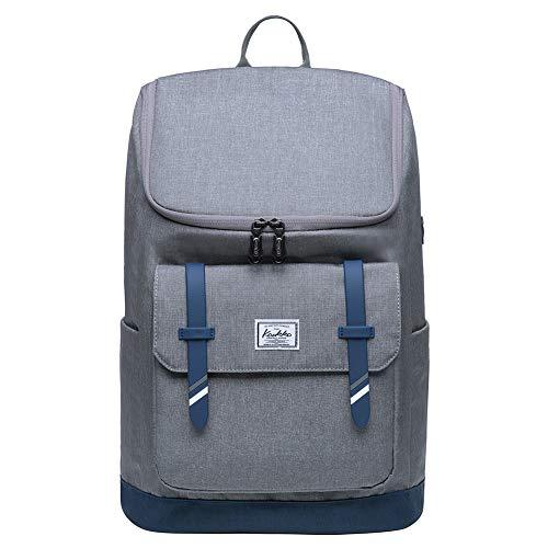 KAUKKO Stylish Oxford Fabric Backpack Travel Rucksack lightweight Hiking...
