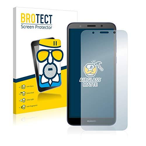 BROTECT Entspiegelungs-Panzerglasfolie kompatibel mit Huawei Y5 2018 / Y5 lite 2018 - Anti-Reflex Panzerglas Schutz-Folie Matt