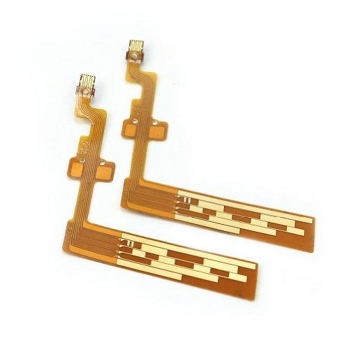 2 x Diafragma Obturador Lente Flex Cable 18-55mm para Canon Pieza Reparación