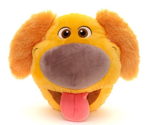 Disney Store 39cm Dug Up Peluche Grande Cojín 3D Perro Pixar Original