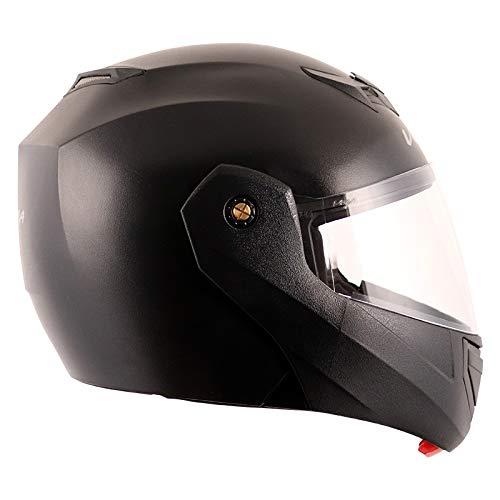 Vega Crux Flip-up Helmet (Black, L)