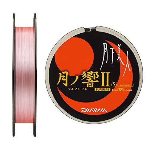 ダイワ(Daiwa) PEライン アジング メバリング 月下美人 UVF 月ノ響II +Si 100m 0.3号 4.8lb ホワイトピンク