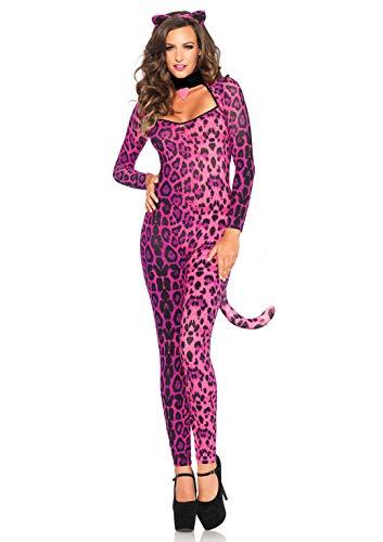Leg Avenue- Gato Mujer, Color rosa, Small (EUR34-36) (84220)