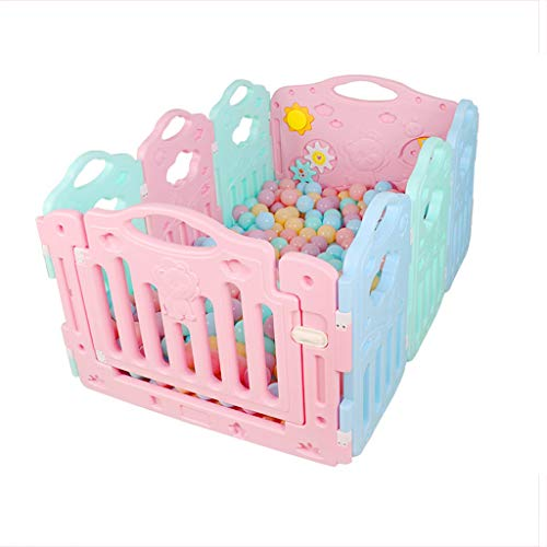 New Baby Playpen Shatter Resistant Toys Toddler Safety Play Area Gate Infant Plastic Castle