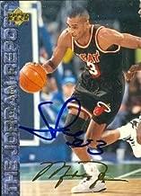 Autograph Warehouse 51874 Steve Smith Autographed Basketball Card Miami Heat 1994 Upper Deck The Jordan Report No .65
