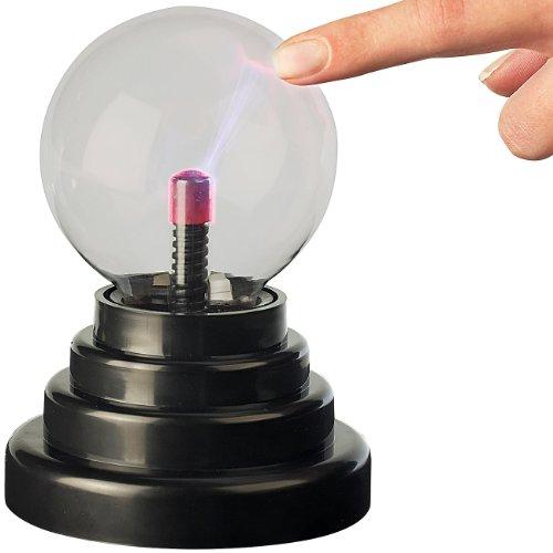 PEARL Plasmalampe: USB-Plasmakugel für Ihren Arbeitsplatz (Plasmaball)