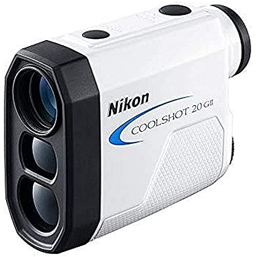Nikon Coolshot 20 GII Telemetro Laser, 5-730 Metros, Unisex-Adult, Blanco, Talla única