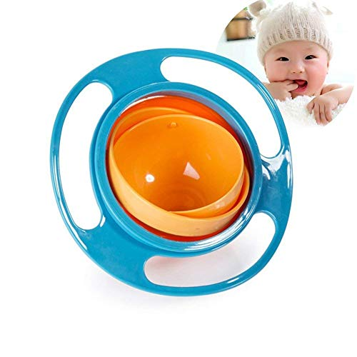 Marilia Die Nicht überlaufende Babyschale kann das Geschirr für Kinder um 360 Grad drehen