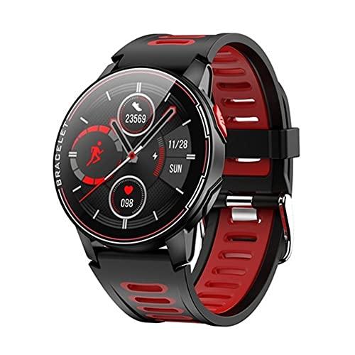 Reloj de deportes digital para hombres Correa táctica a prueba de agua 2021 reloj inteligente IP68 Impermeable Rastreador de fitness Monitoreo de ritmo cardíaco Reloj inteligente Hombres y mujeres Rel