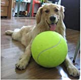 """KCHEX Hot 9.5"""" Big Giant Pet Dog Puppy Tennis Ball Thrower Chucker Launcher Play Toy"""