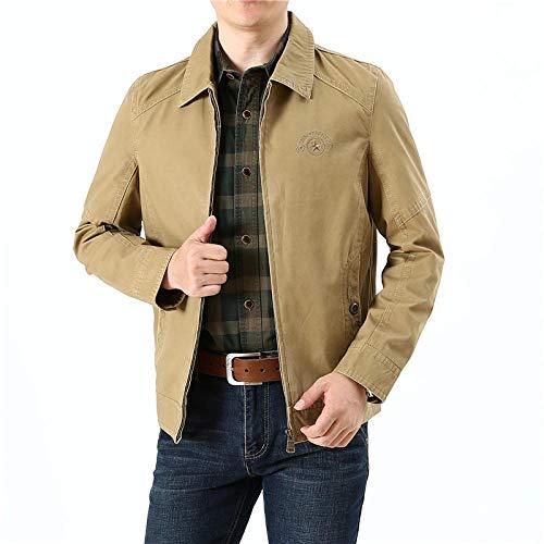 Men's Outdoor Jacket Winter Coat With Outdoor casual men's jacket-khaki_4XL