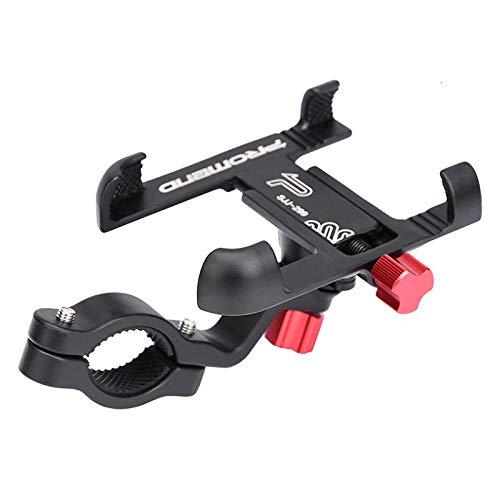 Yywl Promend - Soporte de teléfono para bicicleta (ajustable, aleación de aluminio)