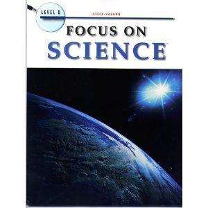 Paperback Steck-Vaughn Focus on Science: Workbook Level D Book