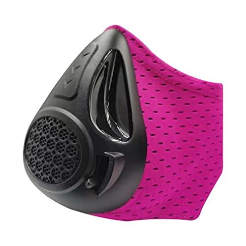 Haowen Máscara de Entrenamiento de altitud Cardio Breathing Entrenador de Fuerza respiratoria 24 Levelspink 15.5 * 13.5 * 9.5cm