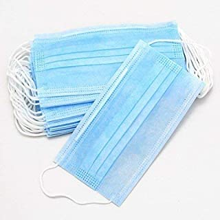 Disposable Earloop Medical Face Masks Two Layer Non-Woven pack 0f 100 pcs