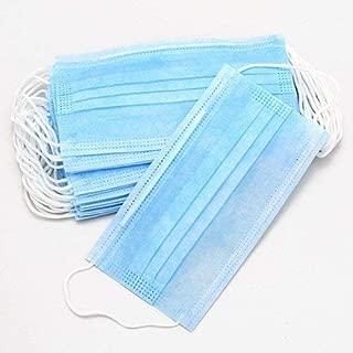 KAVID Disposable Surgical Face Mask, Blue - 20 Pieces