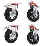 Miafamily ruote per il trasporto ruote per carichi pesanti, ruote orientabili e ruote piro...