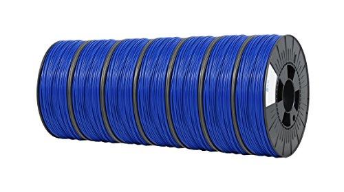 Ice fialements 7valp160Pla Filament, 2,85mm, 0,75kg, Daring Bleu foncé (Lot de 7)