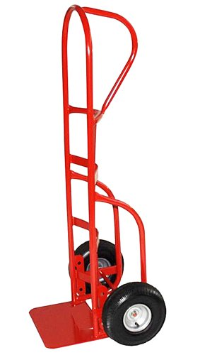 Milwaukee Hand Trucks 33050 P-Handle Truck with 10-Inch Pneumatic Tires