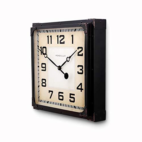 Station Clock Black steampunk buy now online
