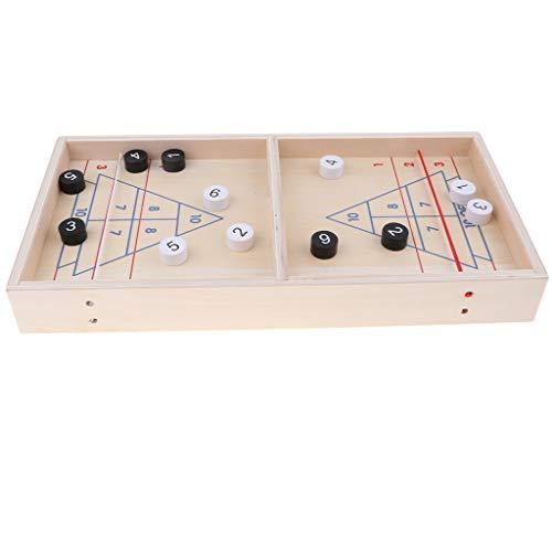 SM SunniMix Kinder Intellektuelles Brettspiel Spielen Eisstockschießen Party Spielzeug Familienspaß