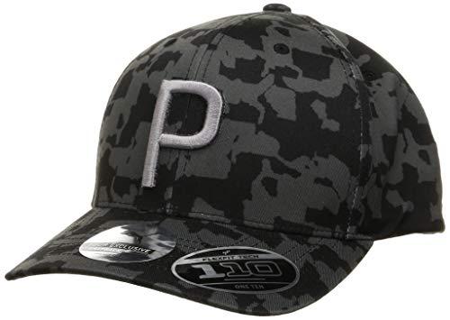 PUMA Herren P 110 Cap, Black/Camo, OSFA