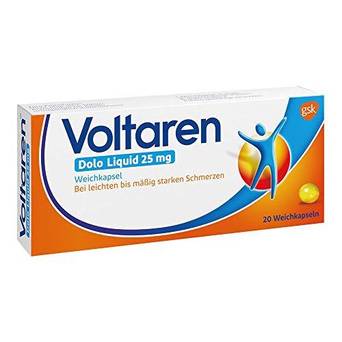 Voltaren Dolo Liquid 25 mg Weichkapseln, 20 St. Kapseln