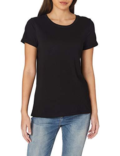 Q/S designed by - s.Oliver Damen 510.11.899.12.130.2064174 T-Shirt, Black, L