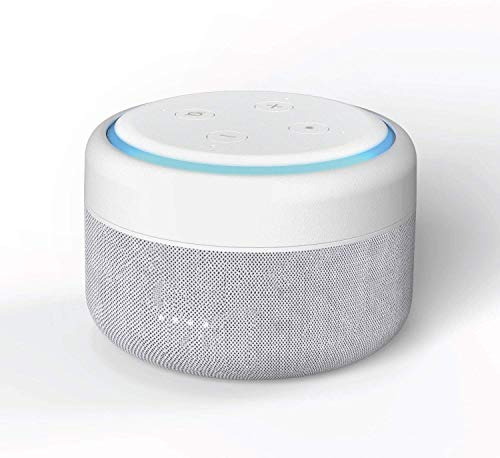 Base de batería para Amazon Echo Dot 3ª generación (Echo Dot no Incluido) - Compatible con Echo Dot 3 Comprado Antes de Agosto de 2019 - Blanco