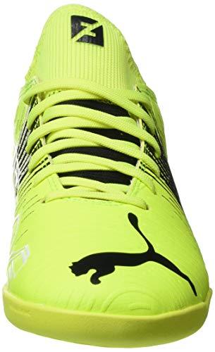 Puma Future Z 4.1 IT JR, Zapatillas de Futsal, Yellow Alert Black White, 38 EU