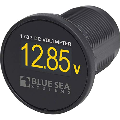 Blue Sea Systems 1733BSS Mini Digital DA Voltmeter