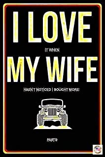 Jeep Wife Parts Sign 8