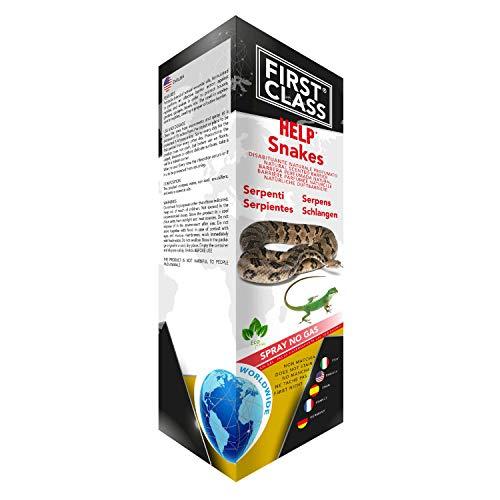 Firstclass Repellente SPECIFICO Serpenti DISABITUANTE Naturale Spray da 1 LITRO
