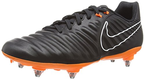 Nike Tiempo Legend VII Academy SG, Scarpe da Calcio Uomo, Multicolore Black Total Orange 080, 41 EU