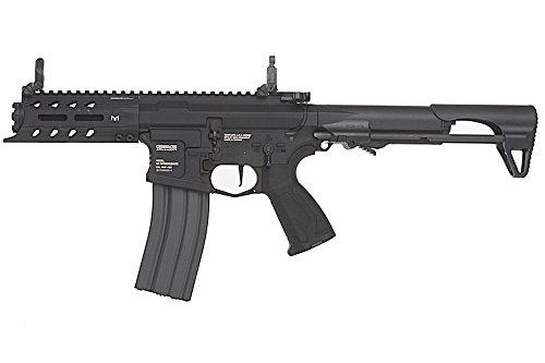 G&G ARP 556 CQB Full Metal Rifle Airsoft, Negro
