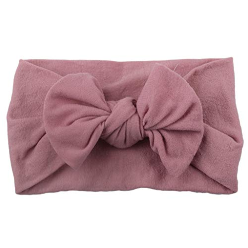Carry stone Premium-Qualit/ät Baby Infant Girl Chiffon Blumen Stirnband Headwear Kopfschmuck Pink