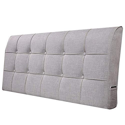 QIANCHENG-Cushion Rückenlehne Bett Kissen Doppel Extra Groß Sofa Weiche Tasche Rückenlehne Positionierung Lesen Antifouling Verschleißfest 5 Farben (Color : #3, Size : 100x60x12cm)