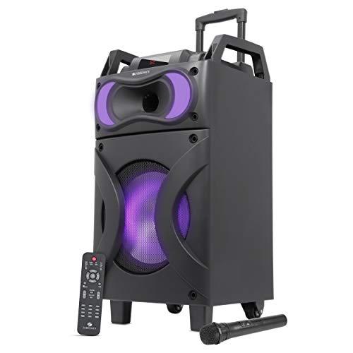 ZEBRONICS Zeb-Moving Monster x12 Bluetooth Trolly Party Speaker, Black