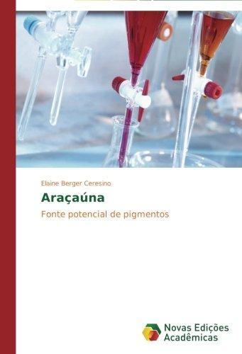 Araçaúna: Fonte potencial de pigmentos