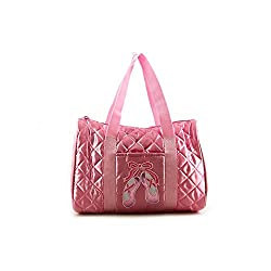 DansBagz by Danshuz Quilted On Pointe Bag PINK