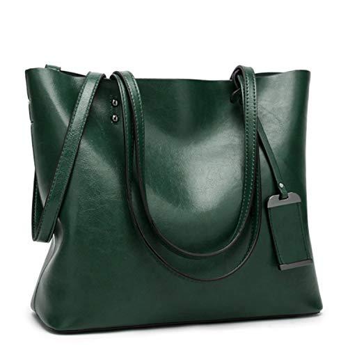 EVEOUT Damen Handtasche aus Weichem Leder mit Großer Kapazität Retro Handtaschen, Damen Top Griff Umhängetasche für die Arbeit Klassische Hobos Tasche mit Quaste Reisetaschen für Frauen