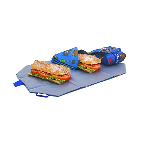 Roll'eat - Boc'n'Roll Kids Bolsa Merienda Porta Sandwich