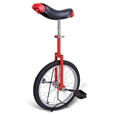 Gorilla Unicycles- Red 16 Inch Wheel Unicycle