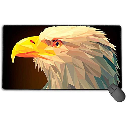 Grote muismat, Animal Origami Design Extended Gaming Mouse Pad Mat Desk Pad Anti-lip Rubber Mousepad 40x75 cm