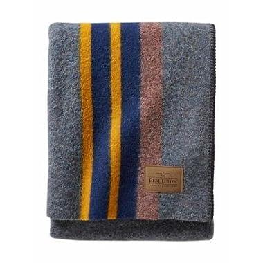 Pendleton Yakima Camp Wool Throw Blanket, Lake, One Size