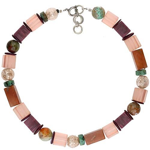 langani Halskette Anoula Damen-Kette schwarzen Perle Handmade Since 1952